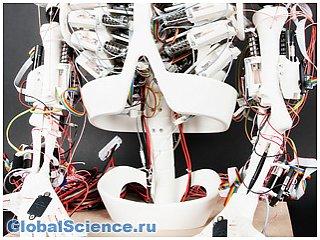Ученые заставили скелет ходить с помощью искусственных мышц видео