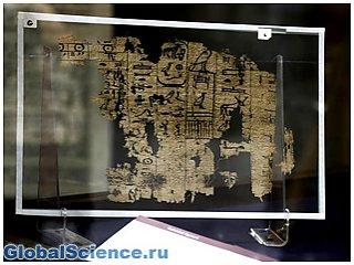 В музее Египта впервые покажут самые древние папирусы