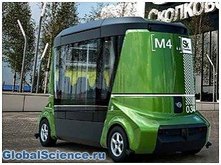 В Москве представили первый российский беспилотный автобус
