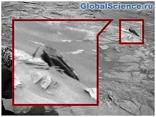 На Марсе нашли обломки космического корабля пришельцев