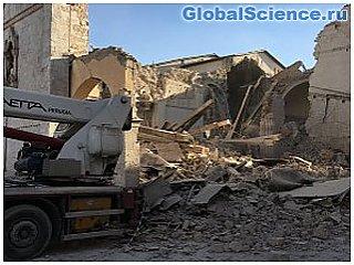 Землетрясение в Италии вызвало серьезные деформации земной поверхности