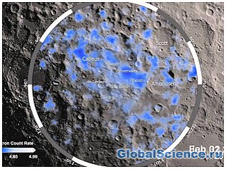 На Луне обнаружили воду с Земли