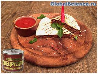 Рецепты с тушенкой – простой рецепт мексиканской кесадильи