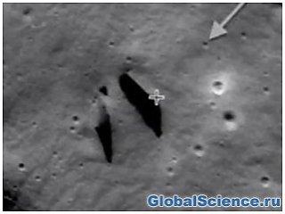 Уфологи нашли на Луне «искусственный вход в подземелье» видео