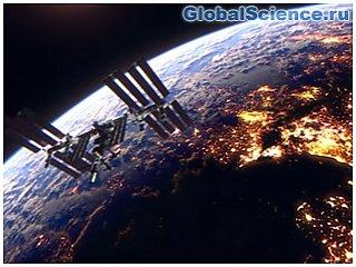 Радужный НЛО попал на камеру МКС во время трансляции NASA видео