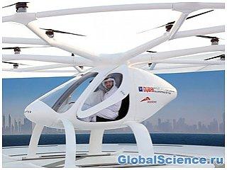 На выставке в Дубае покажут первое в мире летающее такси видео