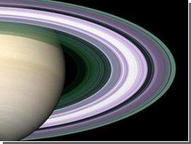 Кольца Сатурна могут быть остатками древней луны