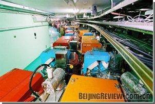 Китайцы добавили мощности своему коллайдеру
