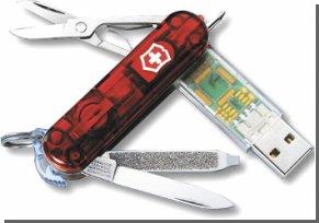 Швейцарский армейский нож обзавелся USB и Bluetooth