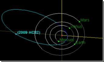 Астрономы заметили необычный астероид недалеко от Земли