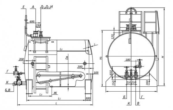 Емкостное оборудование РГС 10 в Москве от компании ВЗРК