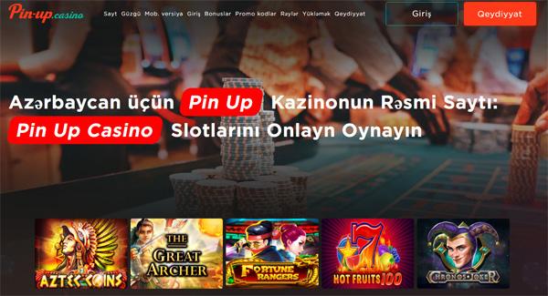 Pin Up kazinolarında qazanclı və maraqlı slot maşınları