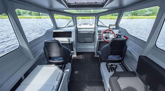 Новый прогулочный катер от КСМЗ - новинка 2021