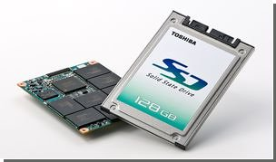Toshiba создала высокоскоростной флэш-диск нового типа