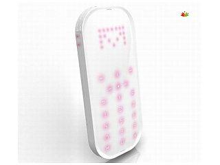 Создан недорогой светодиодный телефон без экрана