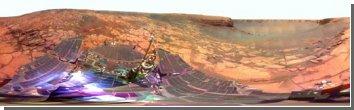 Марсианские виды: панорамный снимок кратера Виктория