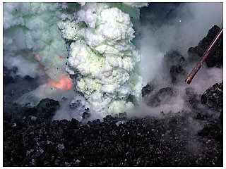Ученые изучают происхождение супервулканов на дне океана