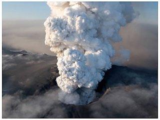 Стихийное бедствие вулкан