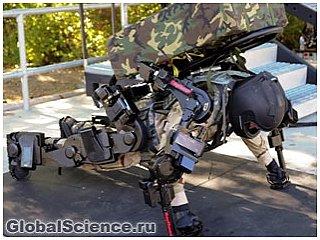 Новый экзоскелет по заказу армии США