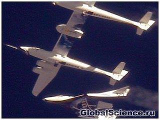 Приватный космический корабль впервые совершил планирующий спуск