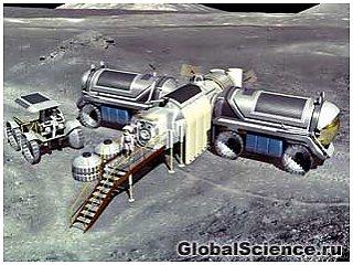 К 2020 году будет построена станция по добыче ресурсов на Луне