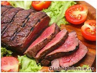 Вид мяса не вызывает у людей агрессию