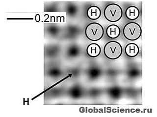 Ученые впервые получили прямое изображение атома водорода