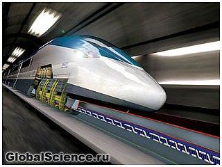 До 20 000 км/час теоретически может разогнаться поезд на магнитной подвеске разрабатываемый Китаем