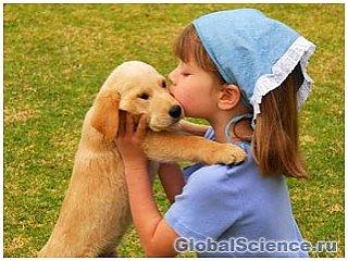 """""""Поцелуи собак"""" могут изменить генетику людей"""