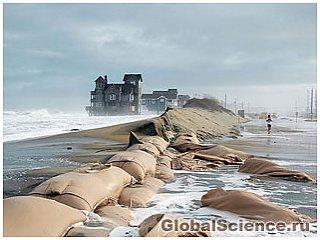 Уровень моря стремительно повышается