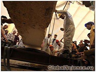 Археологи подняли древнее египетское судно