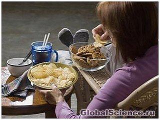 25% калорий, поступающих в организм, исходят от легких закусок