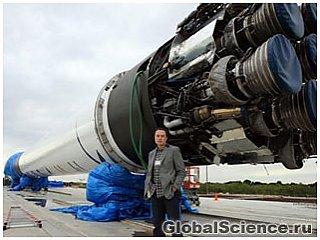 SpaceX разрабатывает самую мощную ракету в мире для полетов на Марс