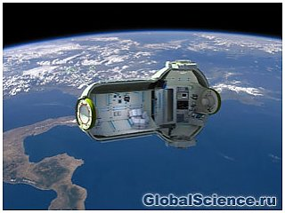 Российская фирма создаст первый космический отель