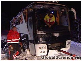 Автокатастрофа в Норвегии
