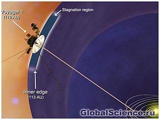 Вояджер-1 достиг нового региона на границе солнечной системы