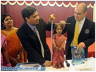 Индийская дюймовочка попала в книгу рекордов Гиннеса