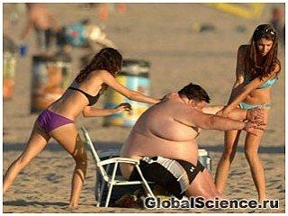 Ожирение может быть заразно