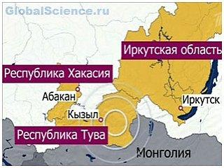 Сильное землетрясение в Восточной Сибири
