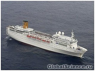 Круизный лайнер Costa Allegra терпит бедствие в Индийском океане