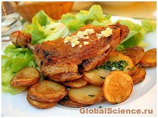 Жирная пища вызывает воспаление в организме