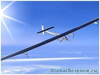 Самолет на солнечных батареях совершит свой первый полет