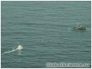 Корабль-призрак был обнаружен и потоплен береговой охраной США