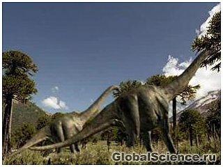 Метан, выделяемый организмами динозавров, поддерживал теплый климат на планете
