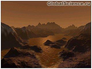 Астрономы обнаружили на поверхности Титана метановые озера