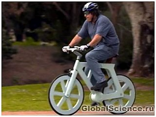 Новый картонный велосипед всего за 12 долларов