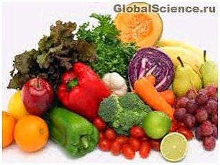 Фрукты и овощи в виде порошка