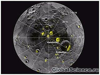 На Меркурии обнаружена вода