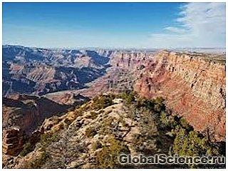 Большой Каньон в США видел динозавров