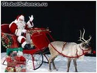 Ученые узнали, почему у оленя Санта-Клауса красный нос